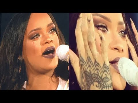 Rihanna Emotional Moments