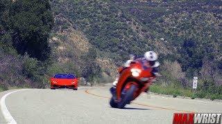 Fastest Supercars Vs Fastest Superbikes