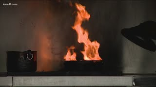 How to avoid kitchen grease fires