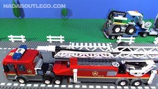 LEGO City Fire Movie 2019
