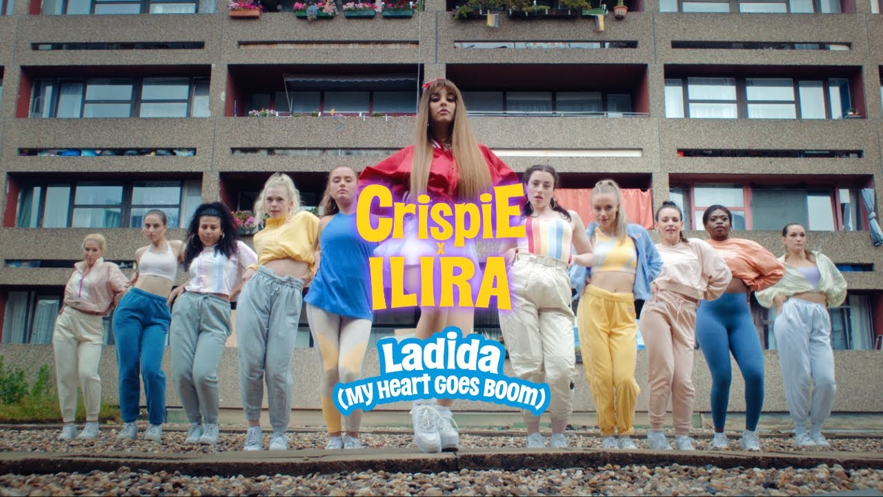 Crispie x ILIRA – Ladida (My Heart Goes Boom)