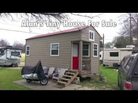 Alan's 192 Sq. Ft. Tiny House For Sale