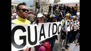 IEA JUNTO A LA DIÁSPORA VENEZOLANA EN COLOMBIA AGRADECE A LA UE POR RECONOCIMIENTO AL PRESIDENTE JUA
