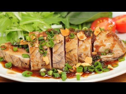 Bonito Steak (Skipjack Tuna Steak Recipe)   Cooking with Dog
