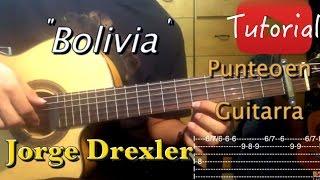 Bolivia - Jorge Drexler tutorial