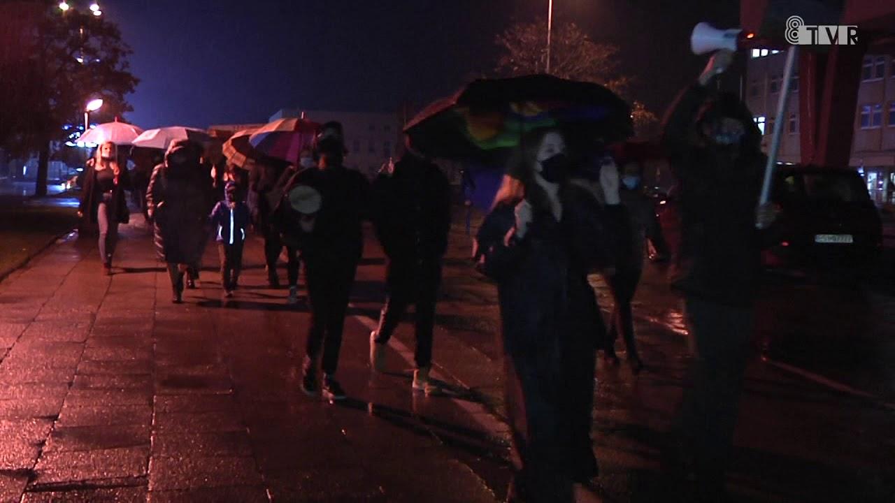 Czarny protest w regionie