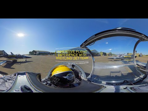IMMERSIVE VR360 FLIGHT EXPERIENCE WITH THE BREITLING JET TEAM ! [5K]