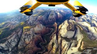 Incredible Flight over Zion National Park in Ultralight Trikes
