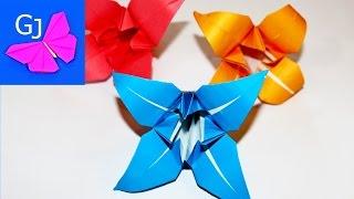 Смотреть онлайн Как сделать лилию из бумаги: урок оригами