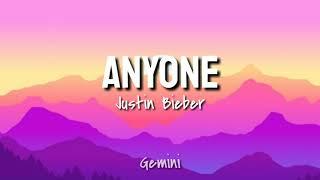 Anyone (Justin Bieber)