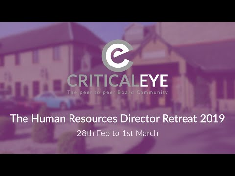 The Human Resources Director Retreat 2019