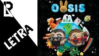 J  Balvin, Bad Bunny - MOJAITA (Letra)