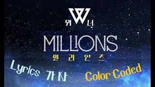 winner millions lyrics color coded - TH-Clip