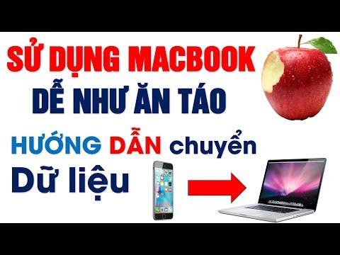 Cách chuyển di dữ liệu từ Iphone sang Macbook - [ Dễ như ăn táo ]