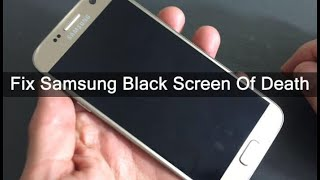 SAMSUNG BLACK SCREEN WITH BLUE LIGHT FLASHING FIX PROBLEM 2020