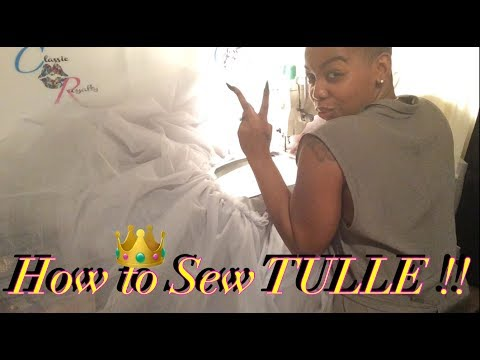 HOW TO SEW TULLE / Easy Mermaid Bottom !! Mp3