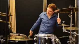 preview picture of video 'How to record Drums on a Budget Podcast SET School Vienna (German)'