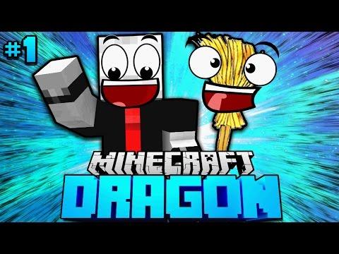 PAUL der SPRECHENDE BESEN?! - Minecraft Dragon #01 [Deutsch/HD]