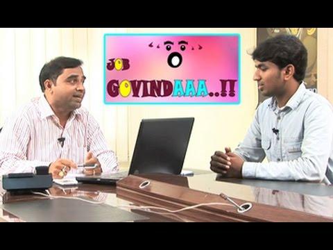 Smile Raja || Job Govindaaa..!! || Funny Comedy Skits