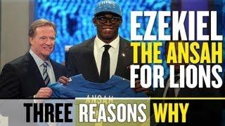 Detroit Lions Miss Mark with Ezekiel Ansah (Three Reasons Why) thumbnail