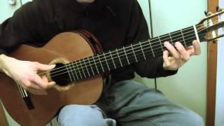 Cours de guitare -  Richard CLAYDERMAN : Ballade pour Adeline (1/2) démo + refrain