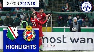 Legia Warszawa - Wisła Kraków 0:2 [skrót] Sezon 2017/18 Kolejka 28