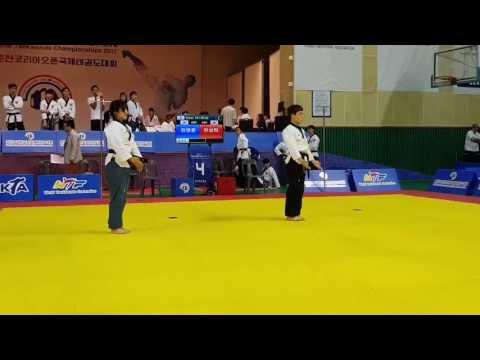 Himchari Poomsae - Taekwondo New Poomsae - Chungcheon Open 2017