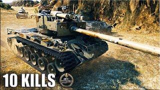 T26E4 SuperPershing 8900+ dmg 🌟 Колобанов, 10 фрагов 🌟 Эль Халлуф -лучший бой World of Tanks