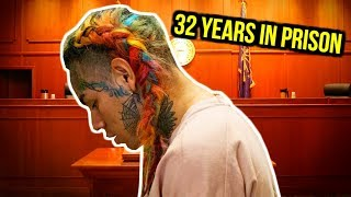 Gambar cover TEKASHI 69 FACES 32 YEARS IN PRISON.