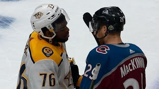 Handshakes: Predators take down Avalanche in Colorado