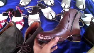 เรียนทำรองเท้าฟรี
