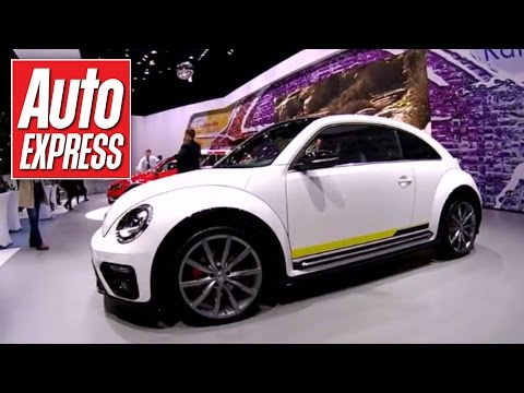 Four fab VW Beetle concepts rock the New York show - Vlog