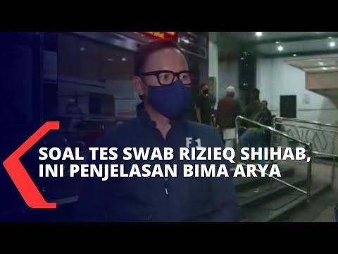rizieq shihab dan keluarganya tolak tes swab bima arya datangi rs ummi bogor