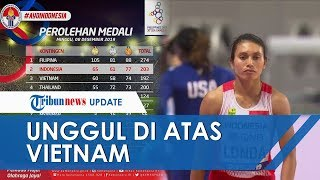 Indonesia Unggul Tipis atas Vietnam dalam Klasemen Medali SEA Games 2019, Masih Urutan Kedua