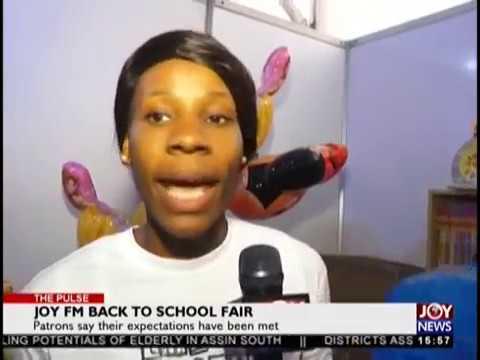 Joy FM Back to School Fair - The Pulse on JoyNews (10-9-18)