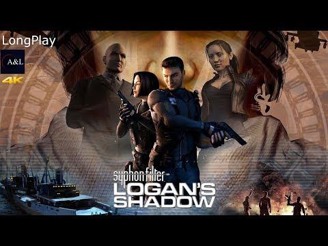 PSP - Syphon Filter: Logan's Shadow - LongPlay [4K:60FPS]🔴