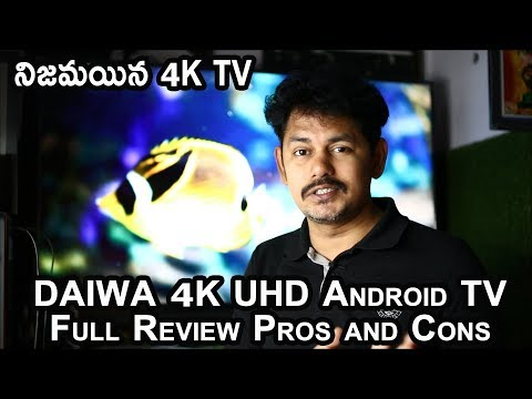 Daiwa 4K UHD 49inches Android Smart TV Full Review: Pros and Cons