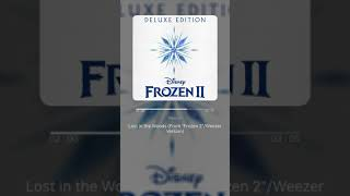 "Lost In The Woods (From ""Frozen 2""Weezer Version)   Weezer | 가사 (Lyrics)"