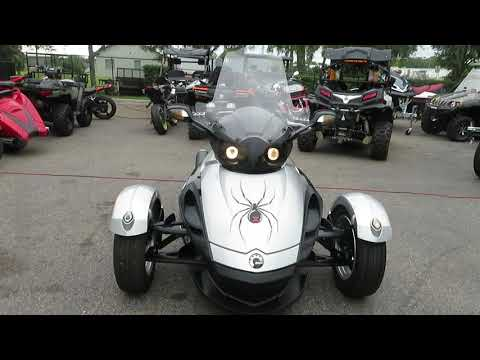 2009 Can-Am Spyder™ GS Roadster with SM5 Transmission (manual) in Sanford, Florida - Video 1