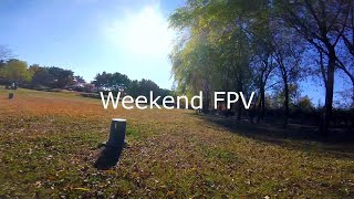 Freestyle Park Flight...// FPV Drone Freestyle // Weekend FPV