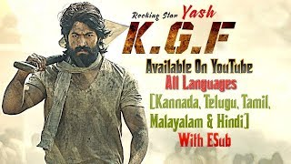k-g-f chapter 1 2019 hindi dubbed watch hd full movie online