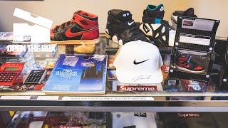 We Found One of the Rarest Nike Collections in An Iowa Sneaker Store | Open the Box