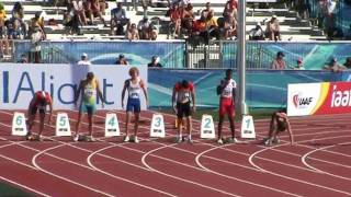 IAAF World Junior Championships Moncton 2010 - 100 m Decathlon Junior