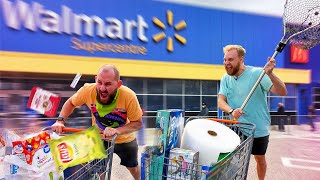 Race To Buy The BEST Walmart Products Challenge!