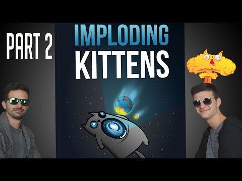Imploding Kittens Part 2 | A leszámolás (Pamkutya Béla, Pamkutya Pista) - Fun With Geeks