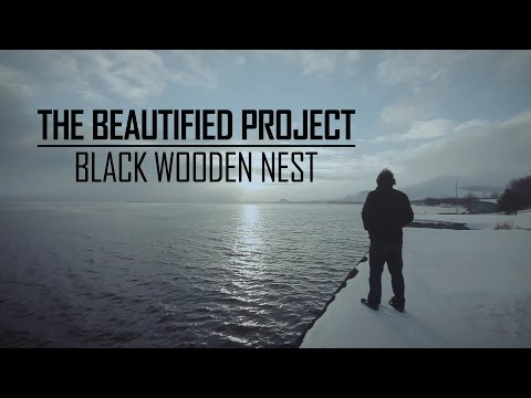 The Beautified Project - Black wooden nest