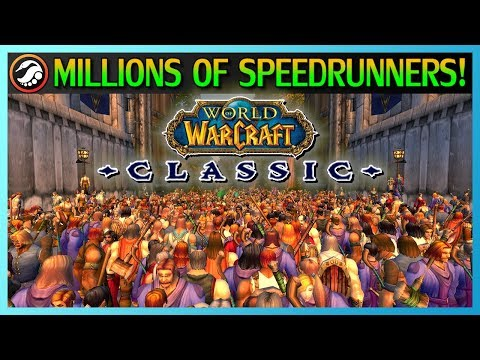 WoW Classic: the biggest speedrunning race in gaming history
