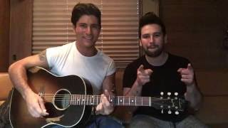 Dan + Shay - Sleep Without You (Brett Young Cover)