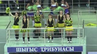 Черлидеры на матче 24.11.14 «Сарыарка» - «Казцинк-Торпедо»