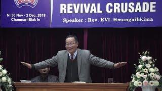 Rev. KVL Hmangaihkima - KRAWS THU